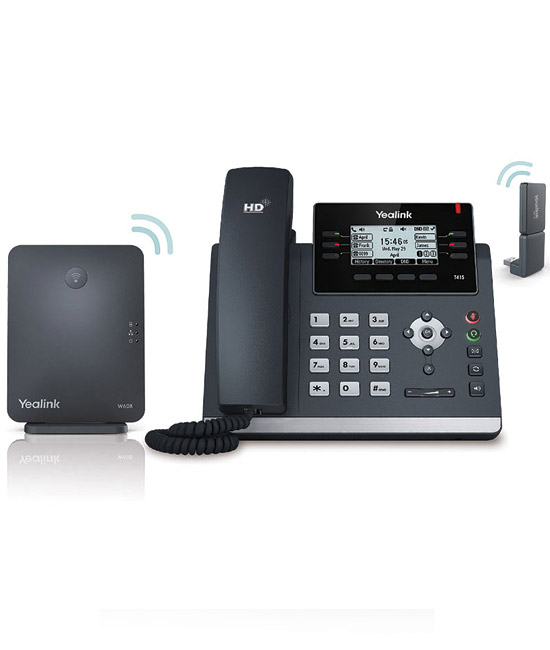 Yealink DECT Desk Phone W41P